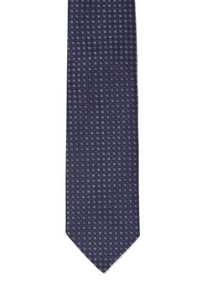 Checkered Silk Tie