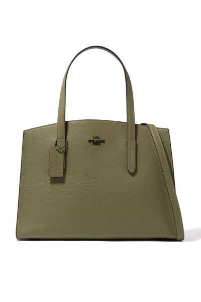 Charlie Carryall 28 Pebble Leather Bag