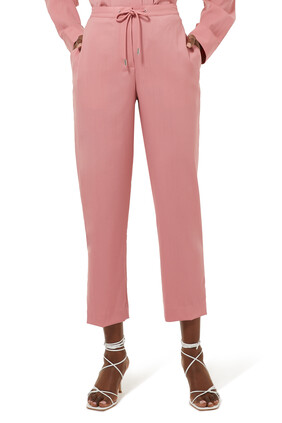 Drawstring Tapered Pants