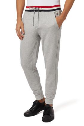 Tricolor Detail Jogging Pants