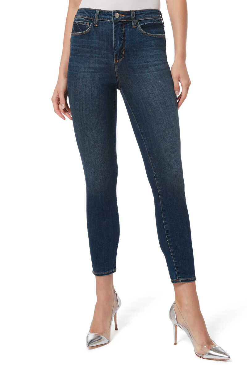 Margot High-Rise Skinny Jeans image number 1