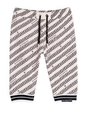 Pattern Print Sweatpants