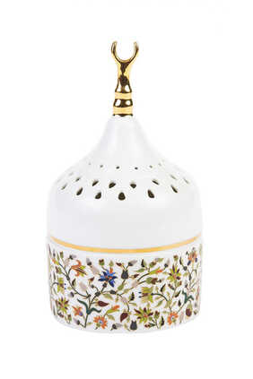 Majestic Perforated Floral Mabkhar