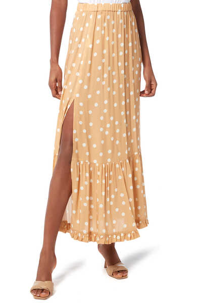 Le Spot Tiered Skirt