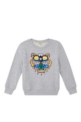 Tiger With Sunglasses Sweatshirt