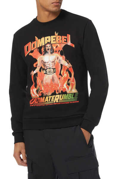 Wrestler Box Sweatshirt