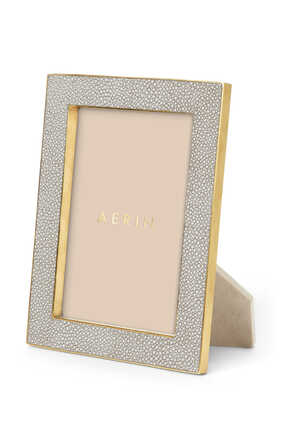 Classic Shagreen 5x7 Photo Frame
