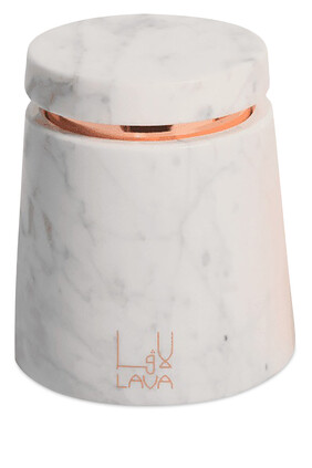 Oud Amber Marble Candle Holder