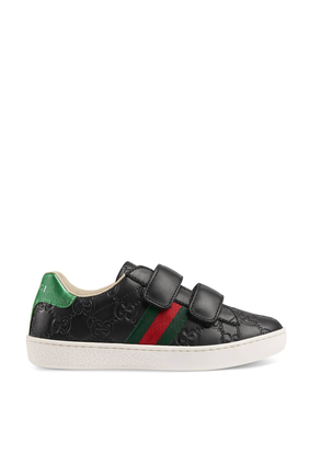 GG Leather Sneakers