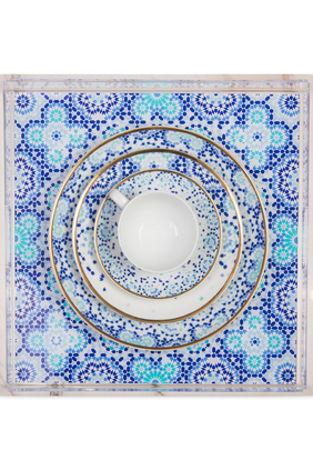 Mirrors Large Square Tray