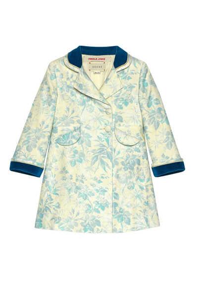 Ivy and Flower Linen Coat