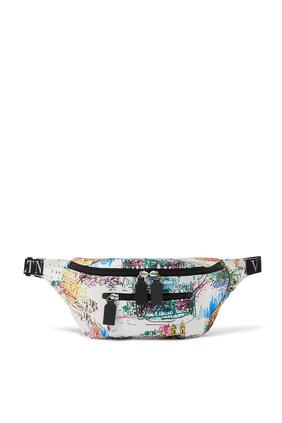 Roman Sketches Nylon Belt Bag