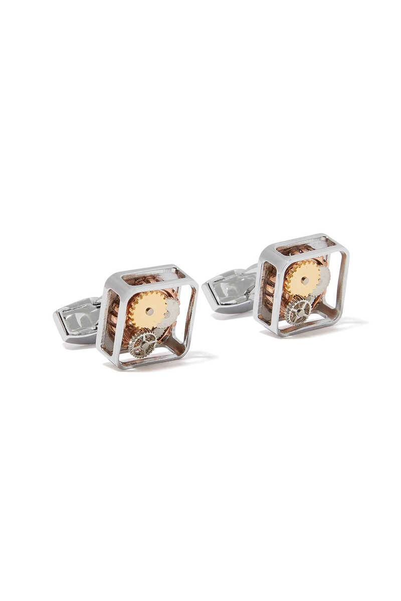 Square Button Cufflinks image number 1
