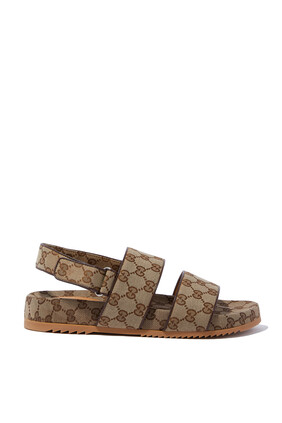 Canvas Slide Sandals