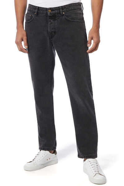 Mid-Rise Tailored Jeans