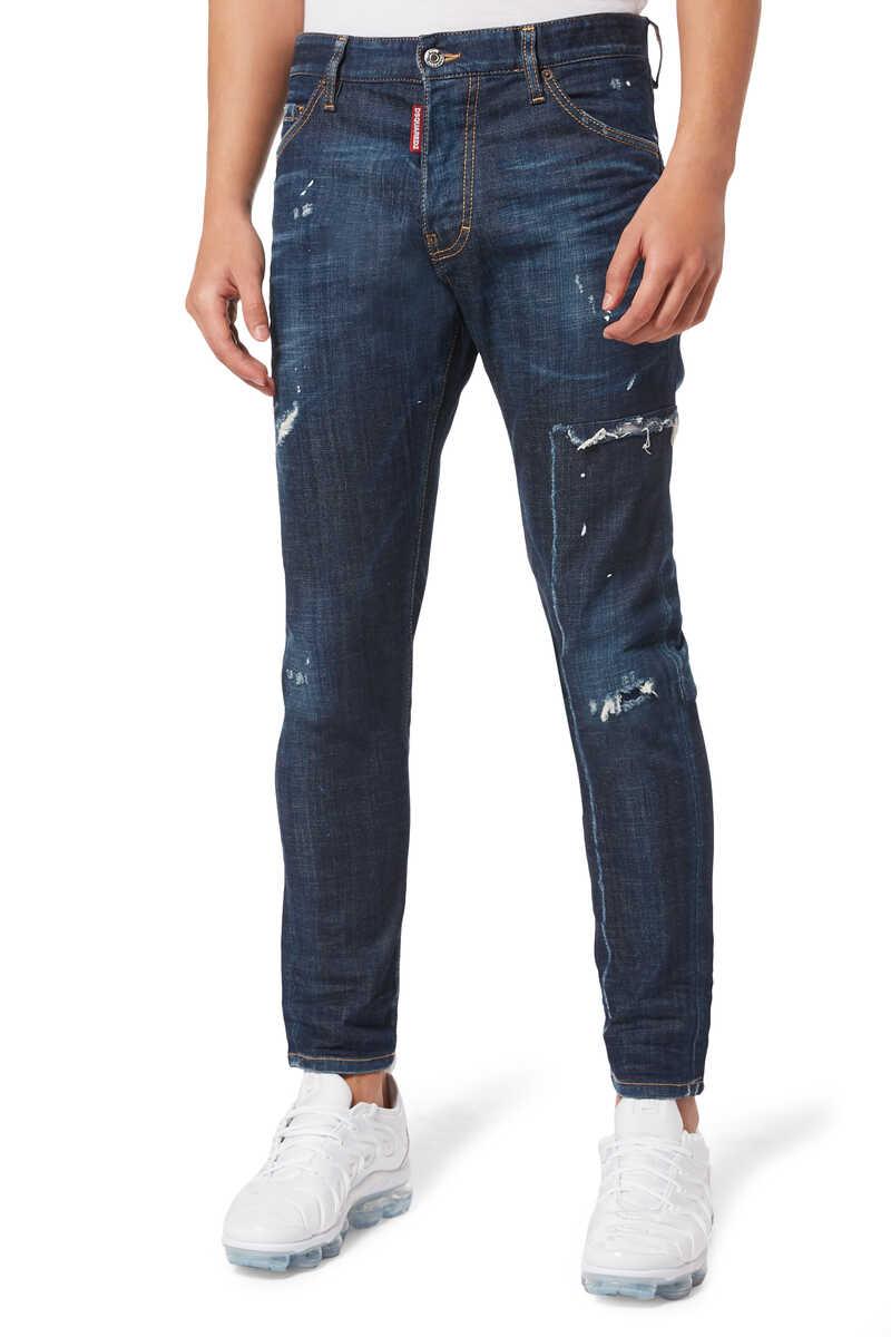 Cool Guy Rip Off Denim Jeans image number 1