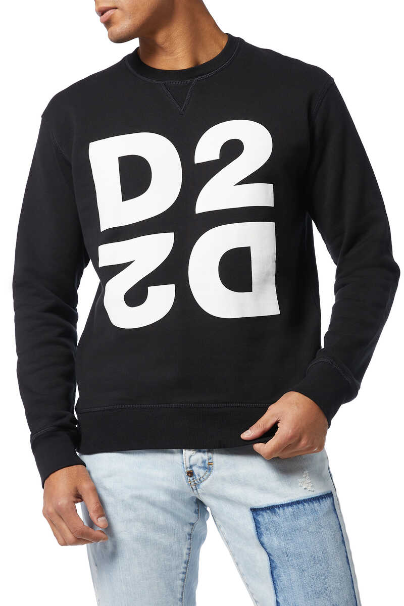 D2 Print Sweatshirt image number 1