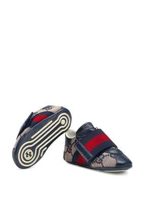 Baby Sneaker With Web Detail