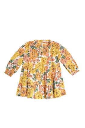 Tiered Poppy Dress