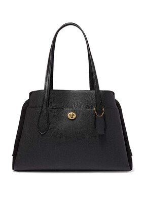 Lora Carryall Leather Bag
