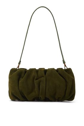 Bean Croc-Embossed Shoulder Bag