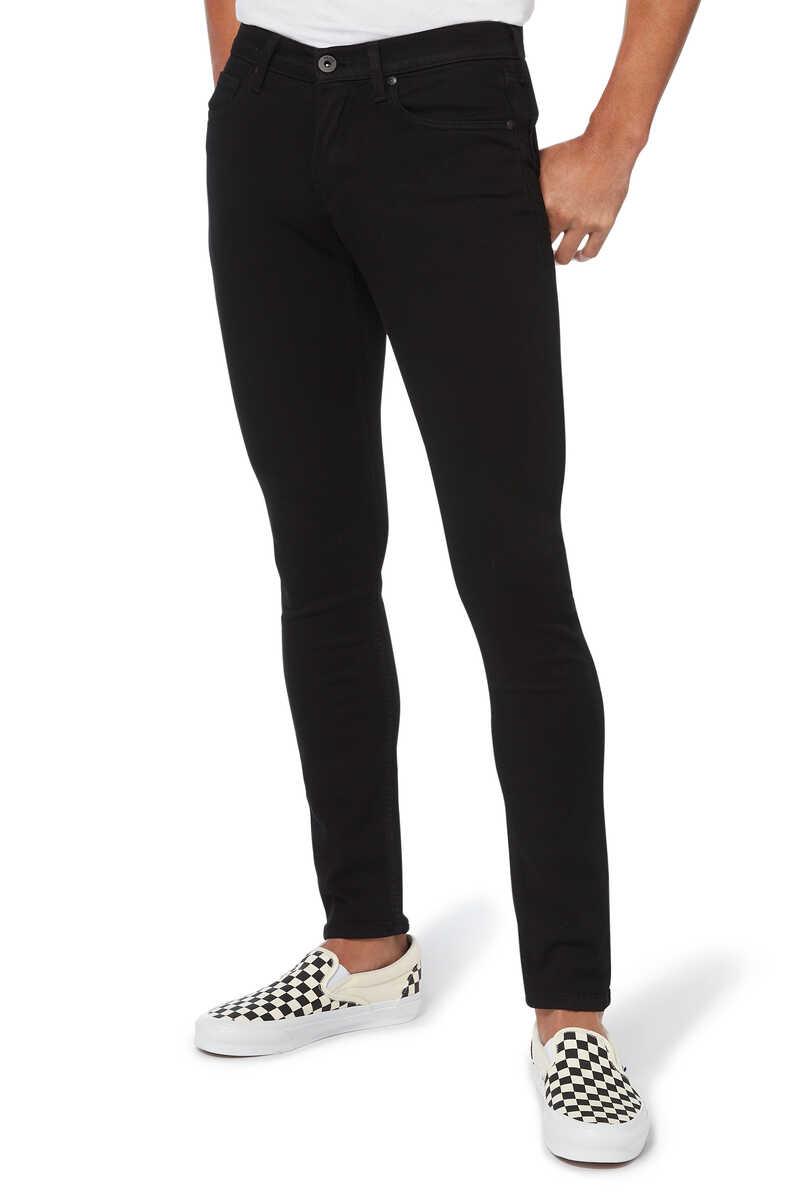 Croft Black Shadow Denim Jeans image number 1