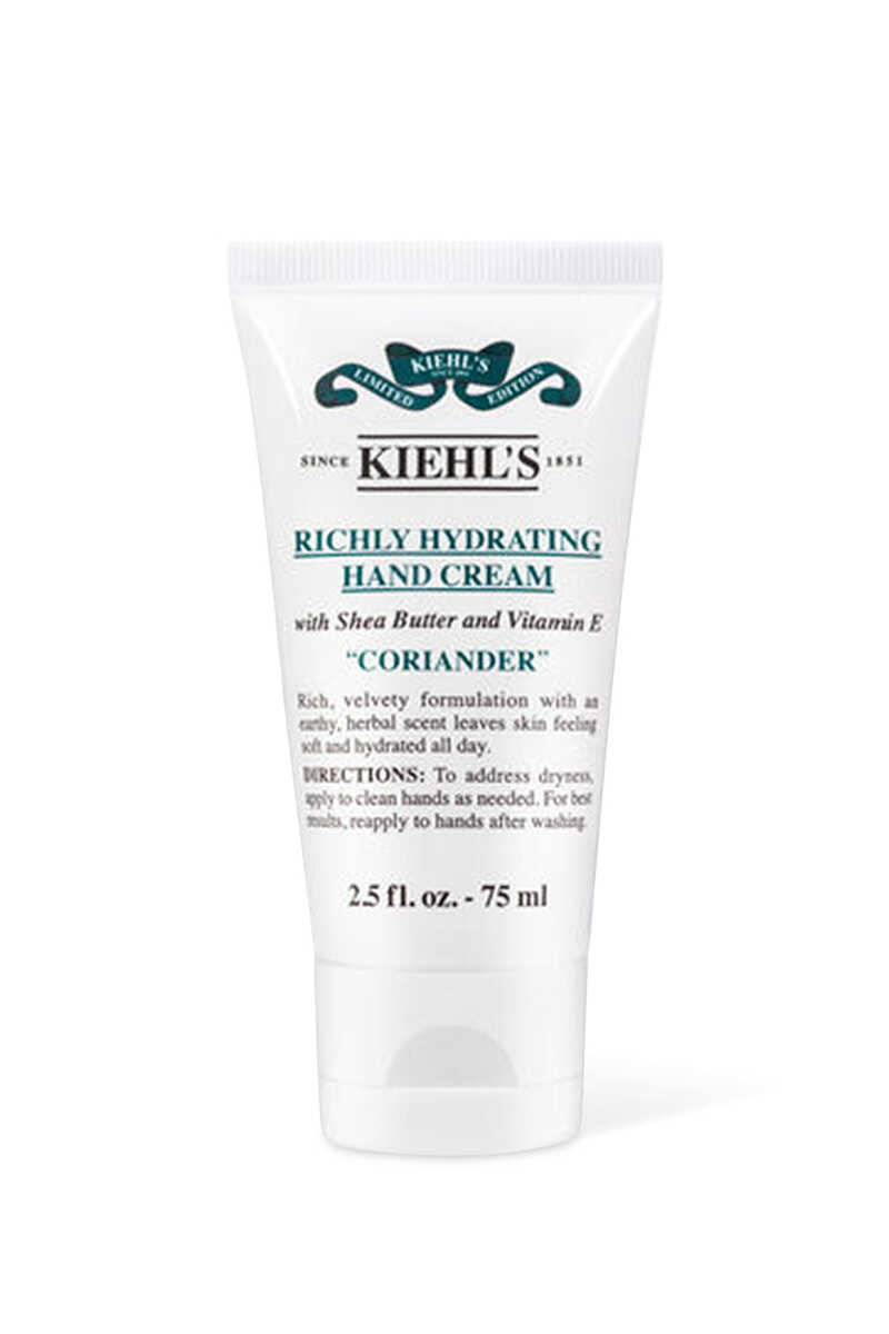 Richly Hydrating Coriander Hand Cream image number 2