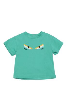 Monster Eyes Cotton T-Shirt
