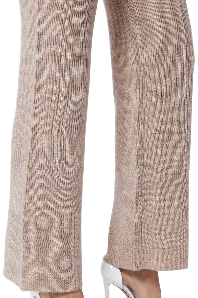 Ribbed Knit Pants image number 4