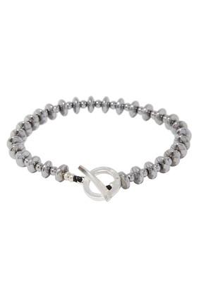 Hematite Roundel Bracelet