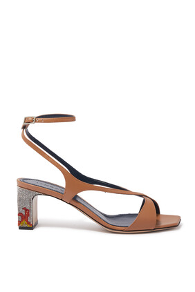 Persefone Crossover Straps Sandals