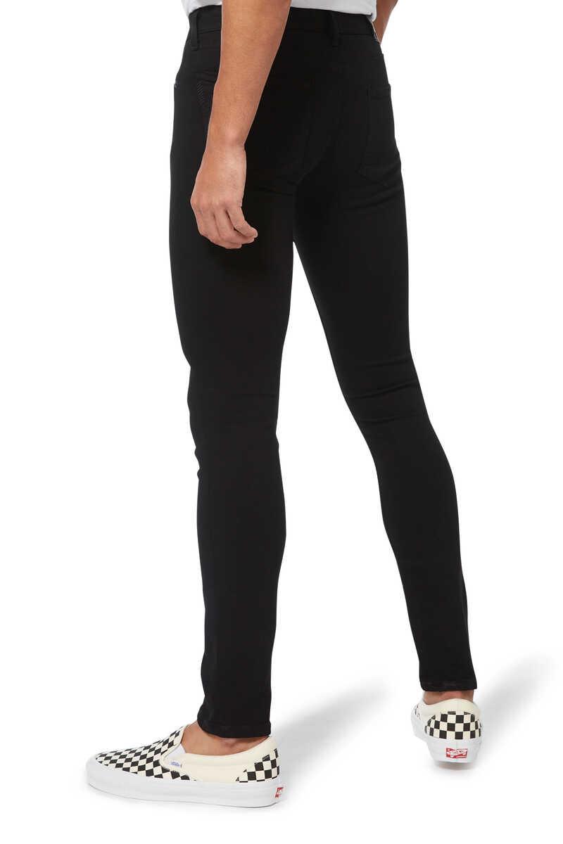 Croft Black Shadow Denim Jeans image number 3