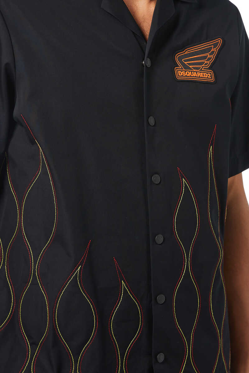 Flamed Stitched Shirt image number 4