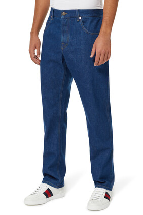 Disney And Gucci Tapered Jeans