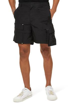 Nylon Pocket Shorts
