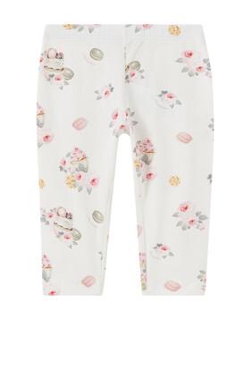 Floral Cotton Leggings