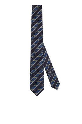 Interlocking G Horsebit Tie