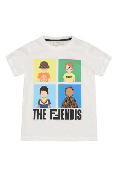 Friends Print Jersey T-Shirt