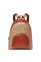 Carrie Signature Canvas Backpack