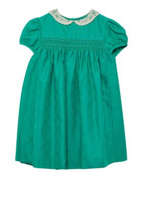 Lace Neck Dress