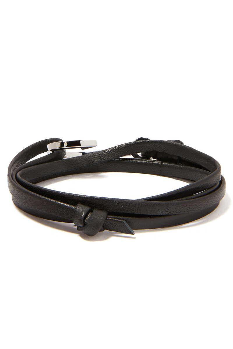 Hooked Leather Bracelet image number 3