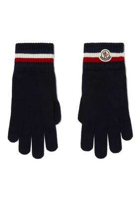 Stripe Wool Gloves
