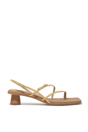 Basgia Strappy Sandals