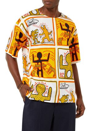 Powder All-over Keith Haring  Shirt