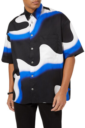 Illusion Cotton Shirt