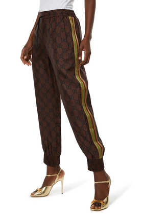 Supreme Print Silk Trousers