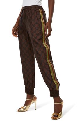 Supreme Print Silk Trousers