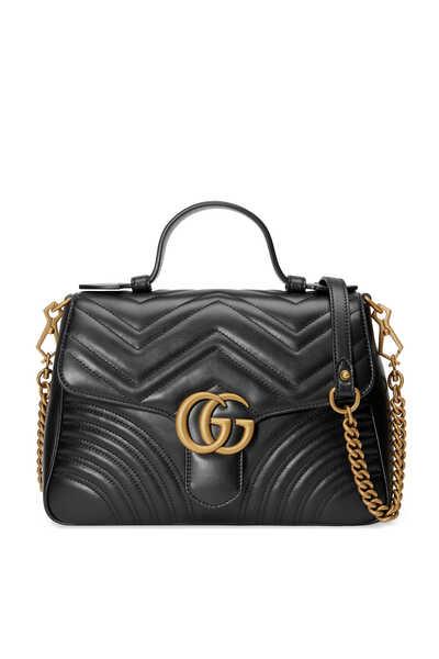 GG Marmont Small Top Handle Bag
