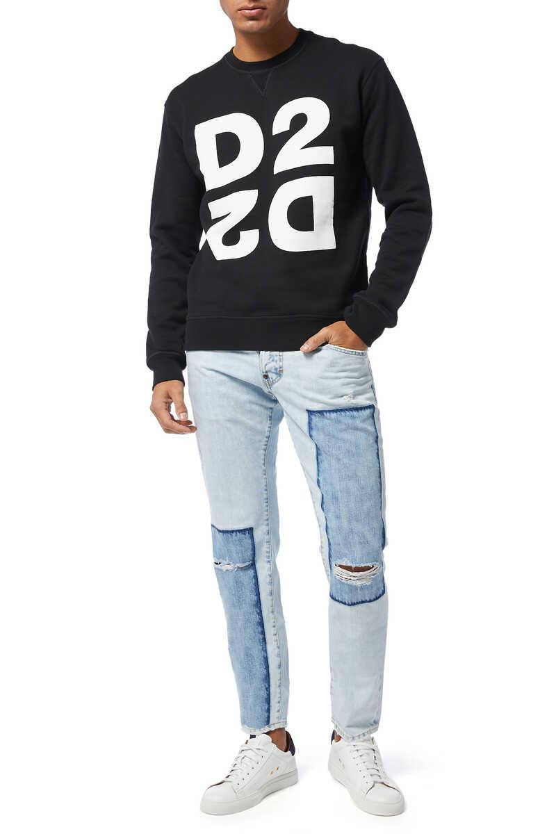 D2 Print Sweatshirt image number 2