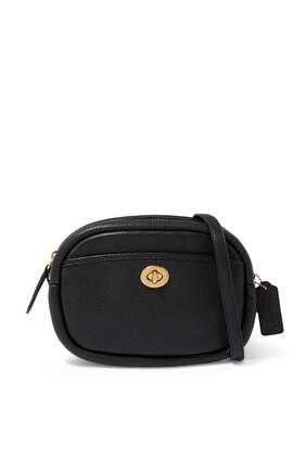 Pebble Leather Camera Bag